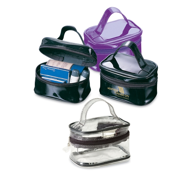 Rectangle PVS Cosmetic bag