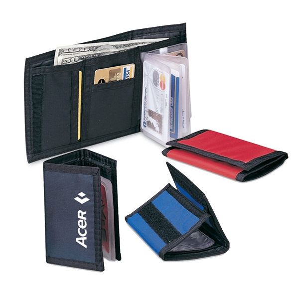 Tr-Fold Wallet with organizer