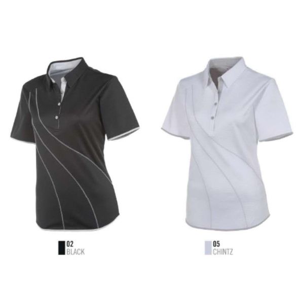 Ladies' Loni Front Swirl Polo