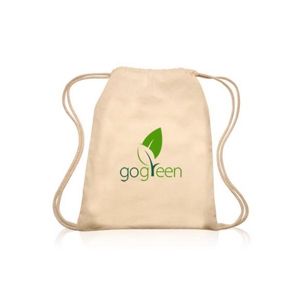 ColorSplash cotton Drawstring Backpack