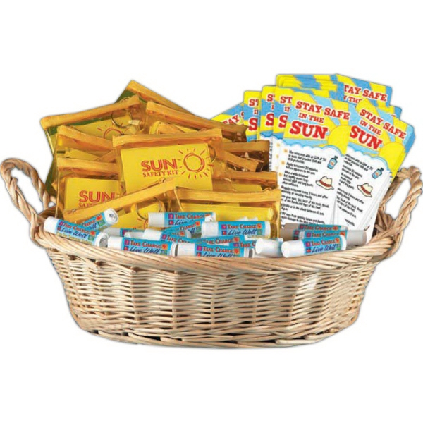 Keeping Safe In The Sun Value Basket