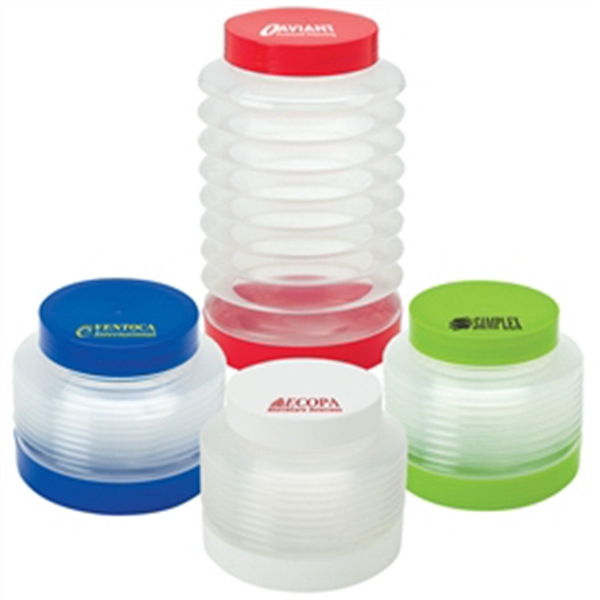 Expandable Storage Jar - Expandable Storage Jar