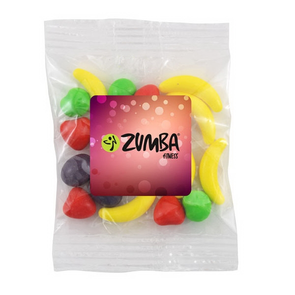 Bountiful Bag with Runts Candy- Full Color Label - Bountiful Bag with Runts Candy- Full Color Label