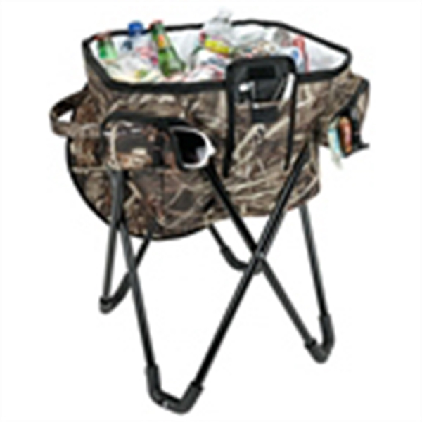 Camo Stand-Up Cooler - Stand-Up Camo Cooler