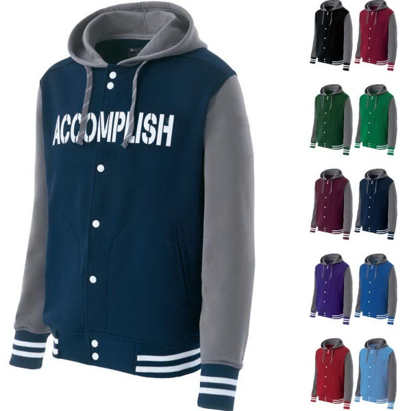 Adult Accomplish Varsity Fleece Jacket