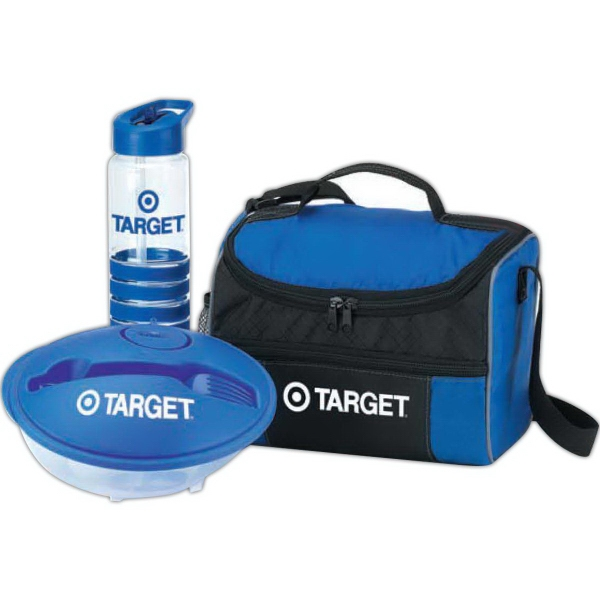 Border Lunch Cooler, Food Container & Tritan®Water Bottle