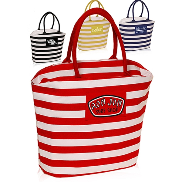 Striper Mariner Tote Bag
