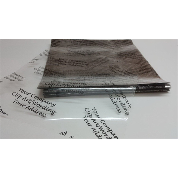 Cellophane sheets custom printed