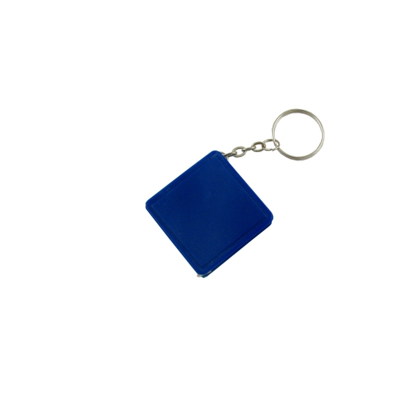 Square Tape Measure W/Key Chain-Close Out