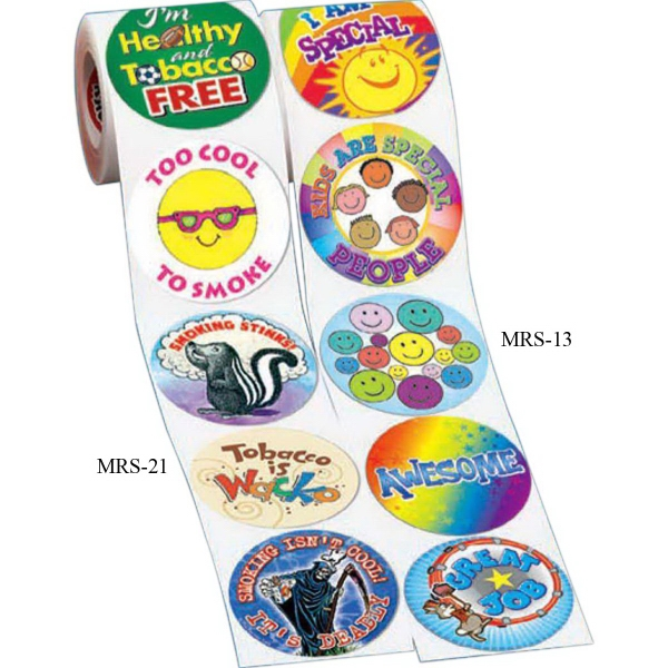 5-On-A-Roll Stickers