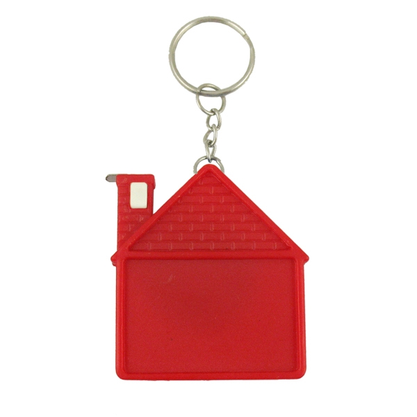 House Tape Measure W/Key Chain
