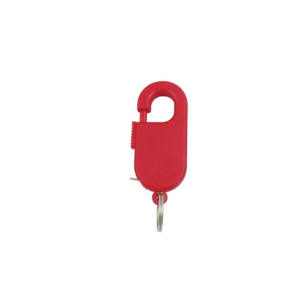 3' Spring Clip Tape Measure W/Key Ring
