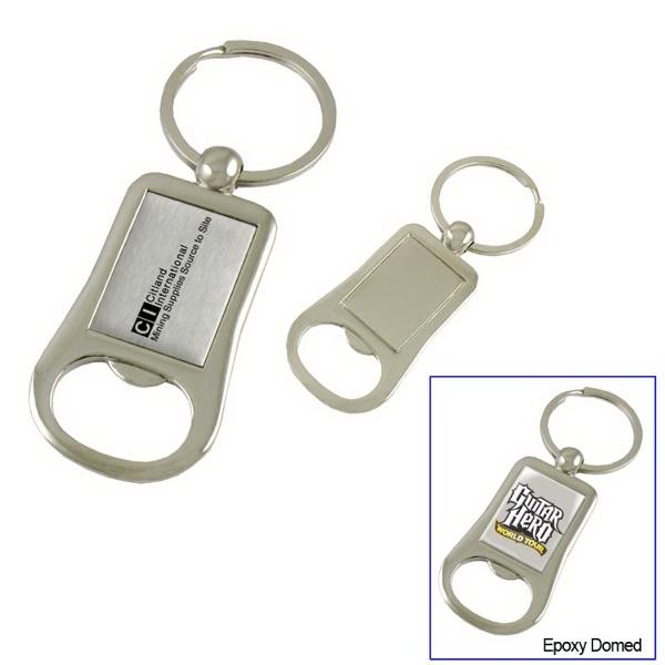 Metal Bottle Opener Key Tag