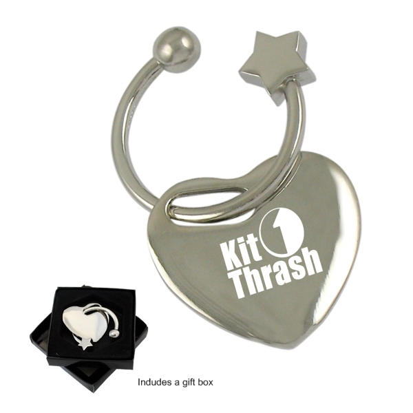 Sweet Heart Key Tag-Close out