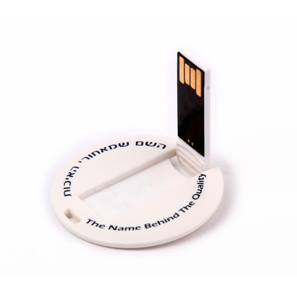 Round and Small Disk Shaped USB 2.0 Flash Drive