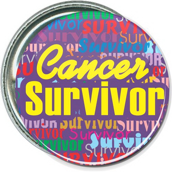 Cancer Survivor, Awareness Button