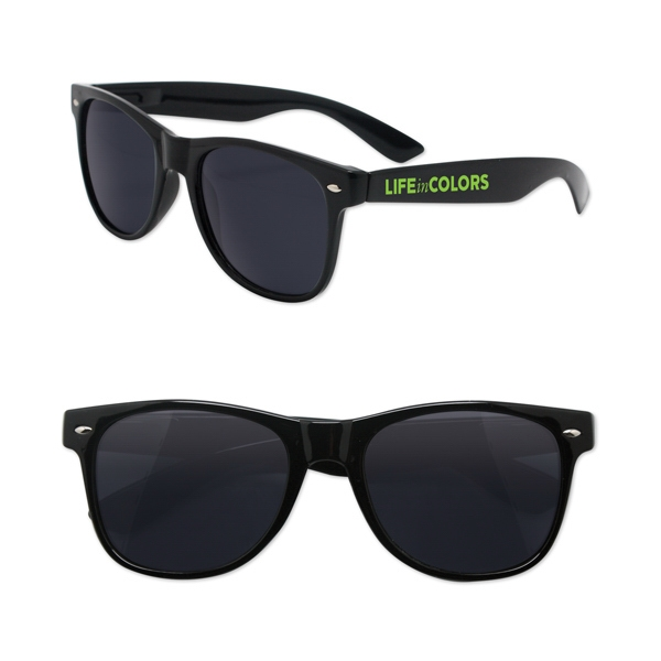 Iconic Sunglasses with Spring Hinge Arms