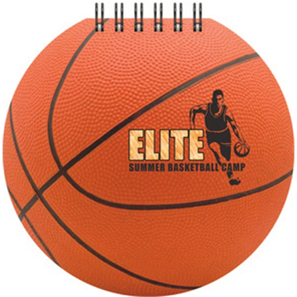 Sports Pad - Full-Color Basketball