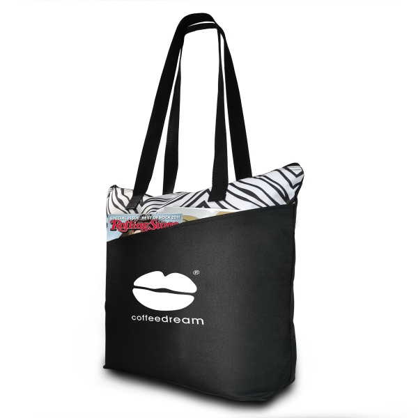 Sahara Zebra Print Tote Bag