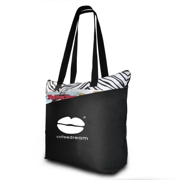 Sahara Zebra Print Tote Bag-IMP