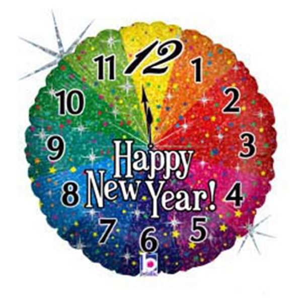 18-inch New Year Countdown Balloon