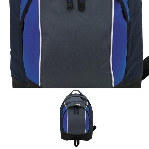 Front Center Zip Pocket Backpack