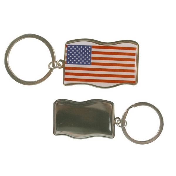Anna American Key Tag