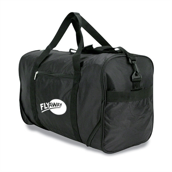SQUARE FOLD AWAY DUFFEL BAG