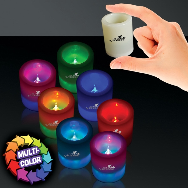 LED Seven Color Votive Candle