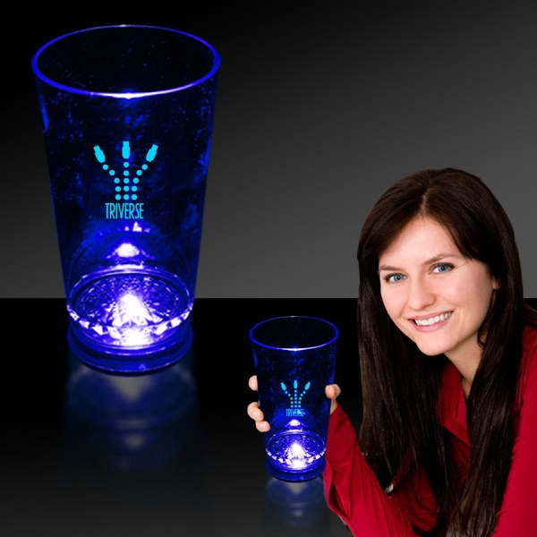 Blue 16 oz. Light Up LED Pint Glass