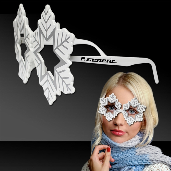 Snowflake costume Eyeglasses