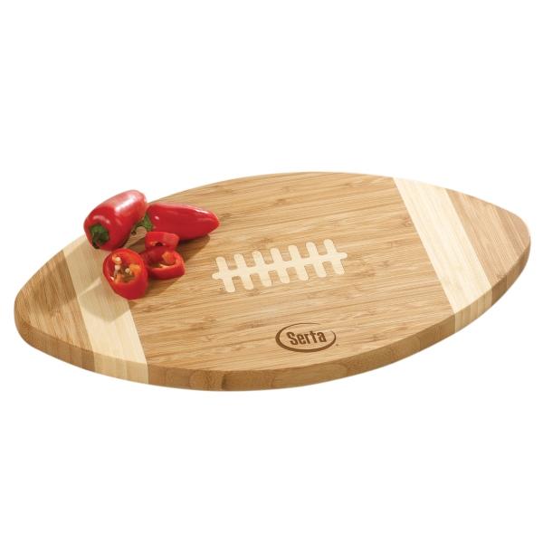 Bamboo Football Cutting Board
