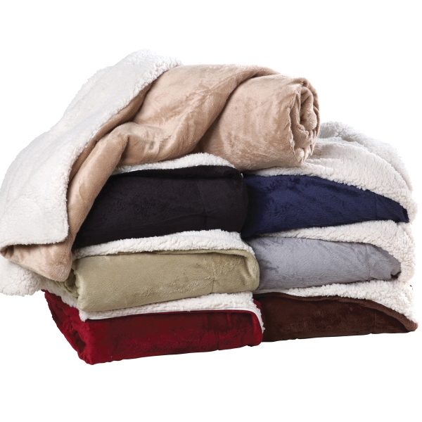 Decadence Sherpa Blanket