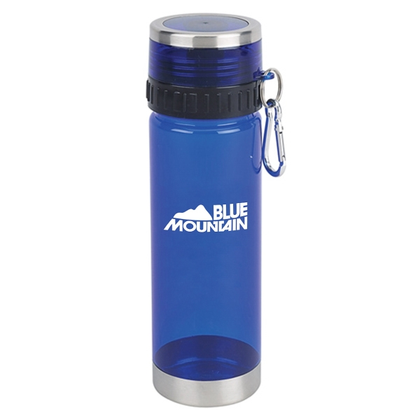 20OZ. TRITAN SPORTS WATER BOTTLE WITH CARABINER