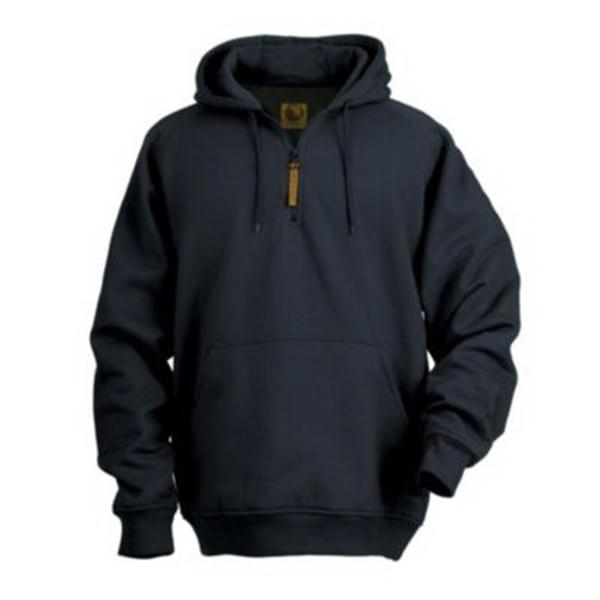 Berne Quarter-Zip Hooded Sweatshirt