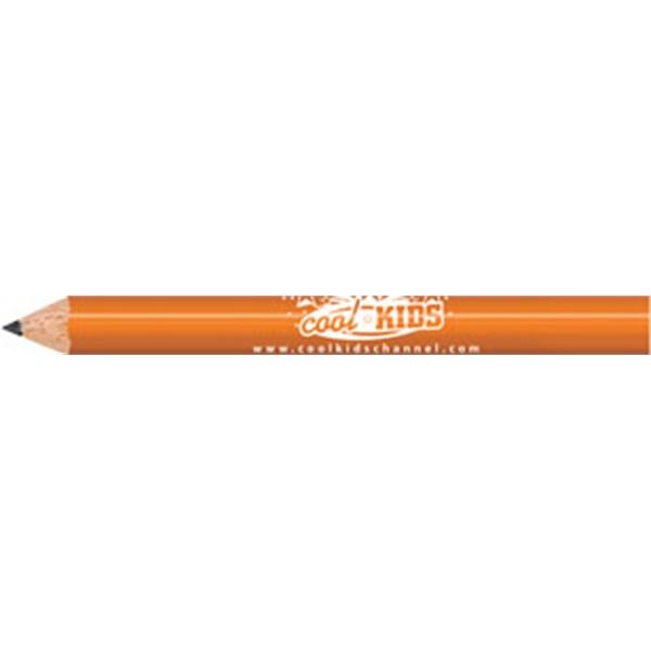 Orange Round Golf Pencils