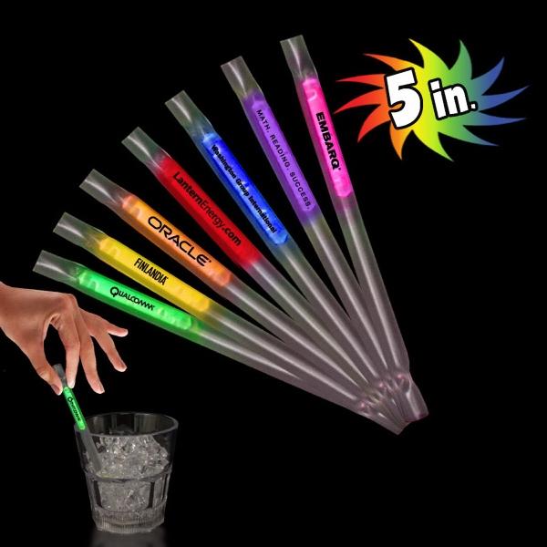 5 Inch Glow Motion Straws