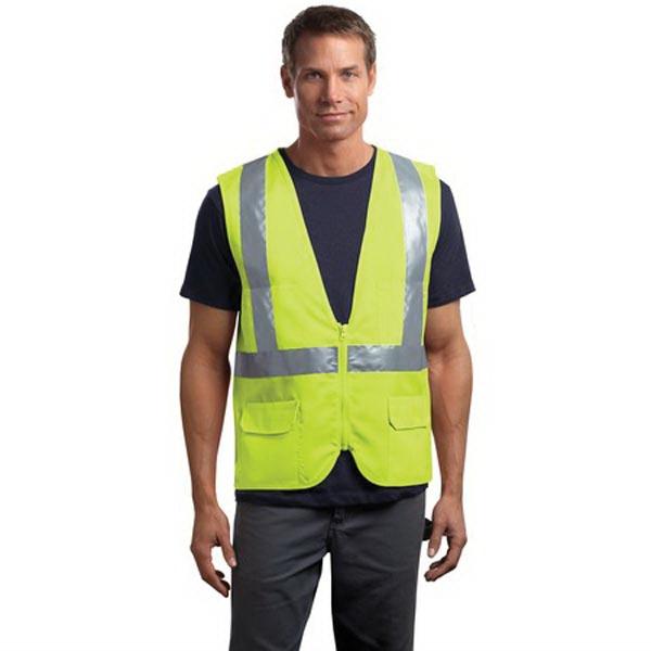 CornerStone - ANSI 107 Class 2 Mesh Back Safety Vest.