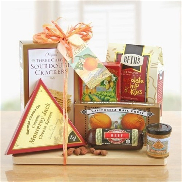 Cutting Board Complete Gourmet Gift