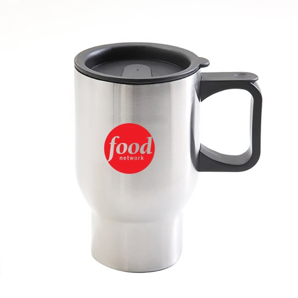 16 Oz. DOUBLE WALL STEEL MUG