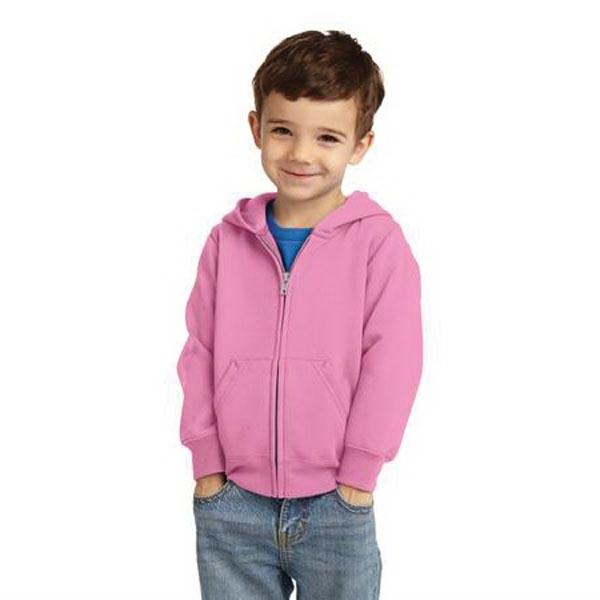 Precious Cargo Toddler Full-Zip Hooded Sweatshirt.