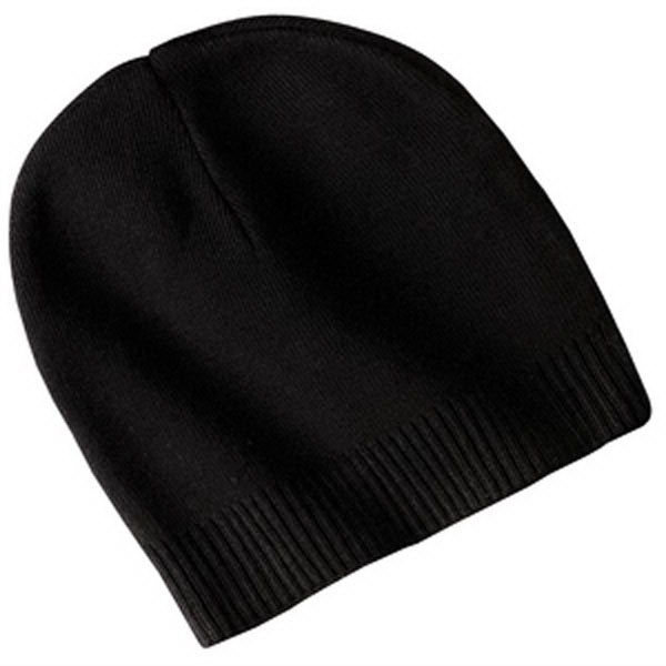 Port Authority 100% Cotton Beanie.