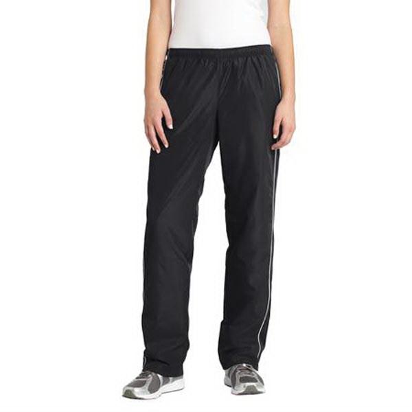 Sport-Tek Ladies Piped Wind Pant. - Sport-Tek Ladies Piped Wind Pant.