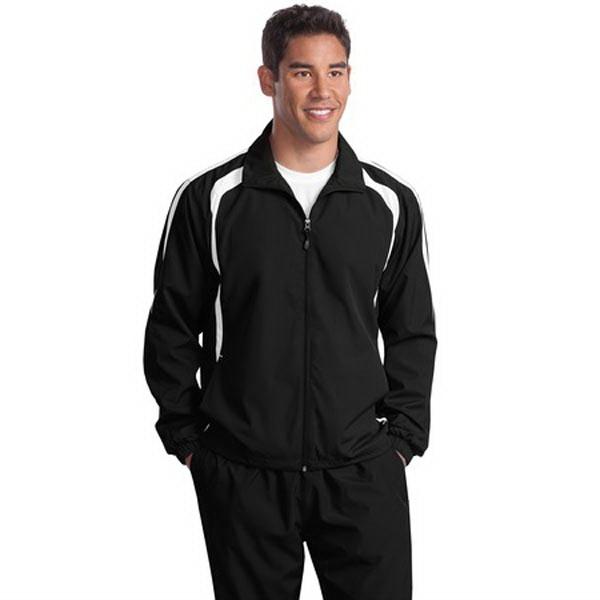 Sport-Tek Colorblock Raglan Jacket.
