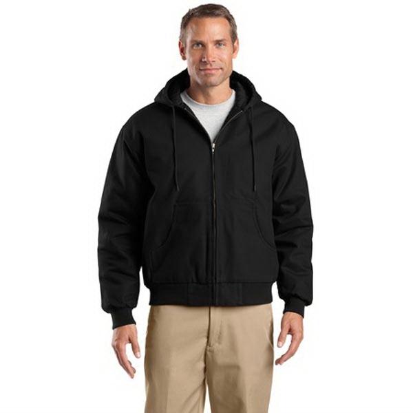 CornerStone - Duck Cloth Hooded Work Jacket.