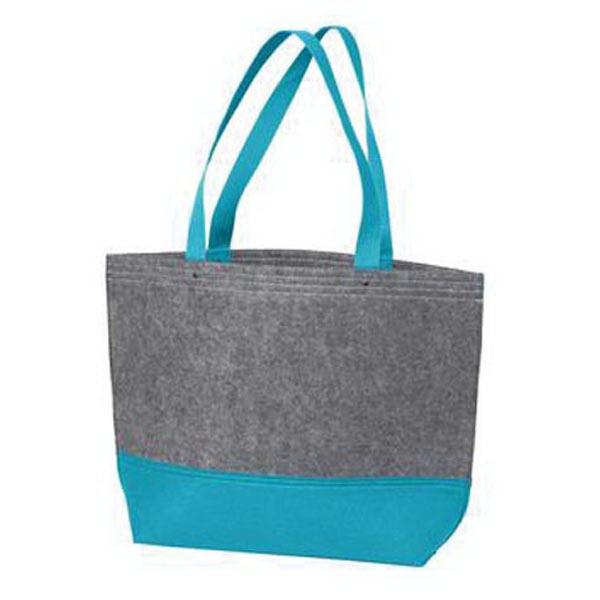 Port Authority Medium Felt Tote. - Port Authority Medium Felt Tote.