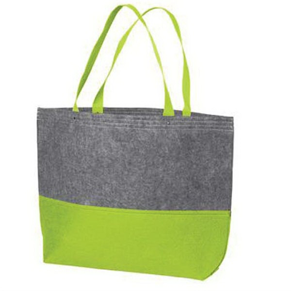 Port Authority Large Felt Tote. - Port Authority Large Felt Tote.