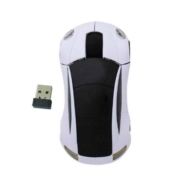 800DPI 2.4GHZ Wireless Car Optical Mouse /Mice