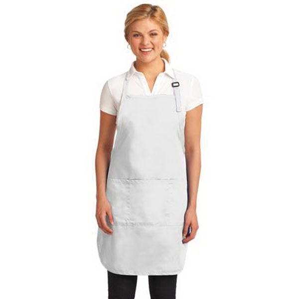 Port Authority Easy Care Full-Length Apron with Stain Releas