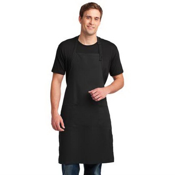 Port Authority Easy Care Extra Long Bib Apron with Stain Rel